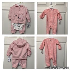 Baby Girl Bundle in Pink - 3 month